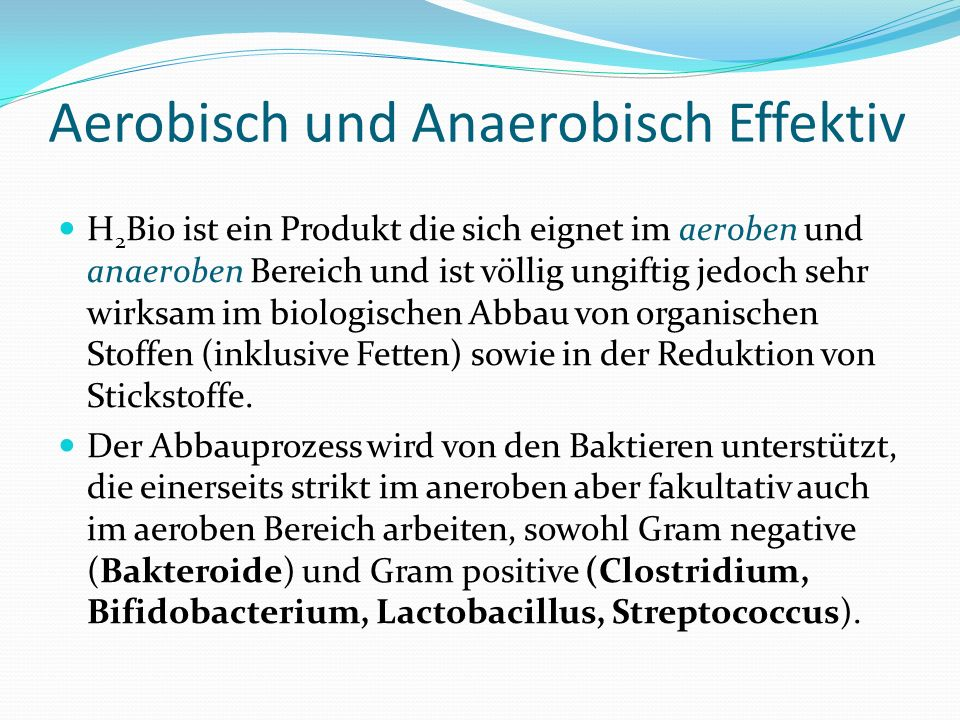Aerobisch und Anaerobisch Effektiv