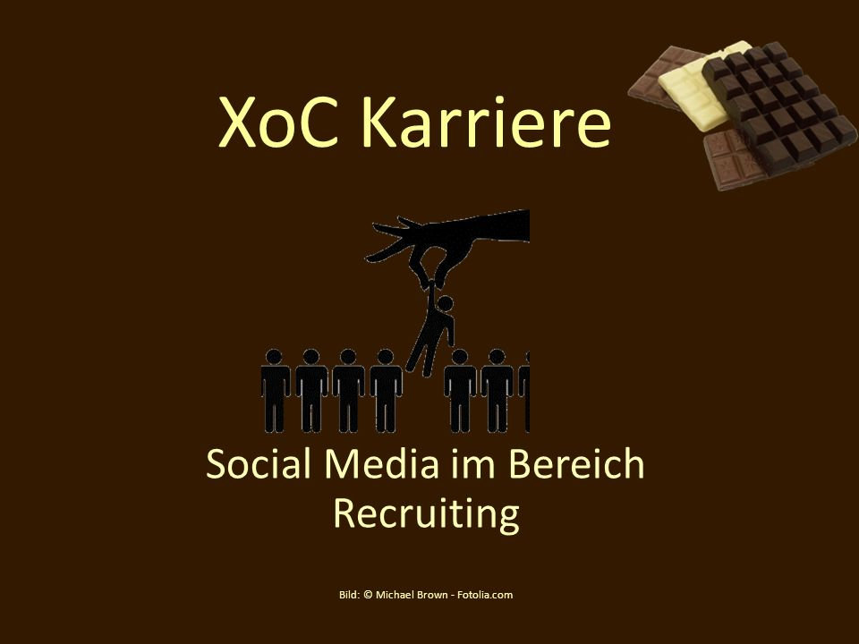 Social Media im Bereich Recruiting Bild: © Michael Brown - Fotolia.com
