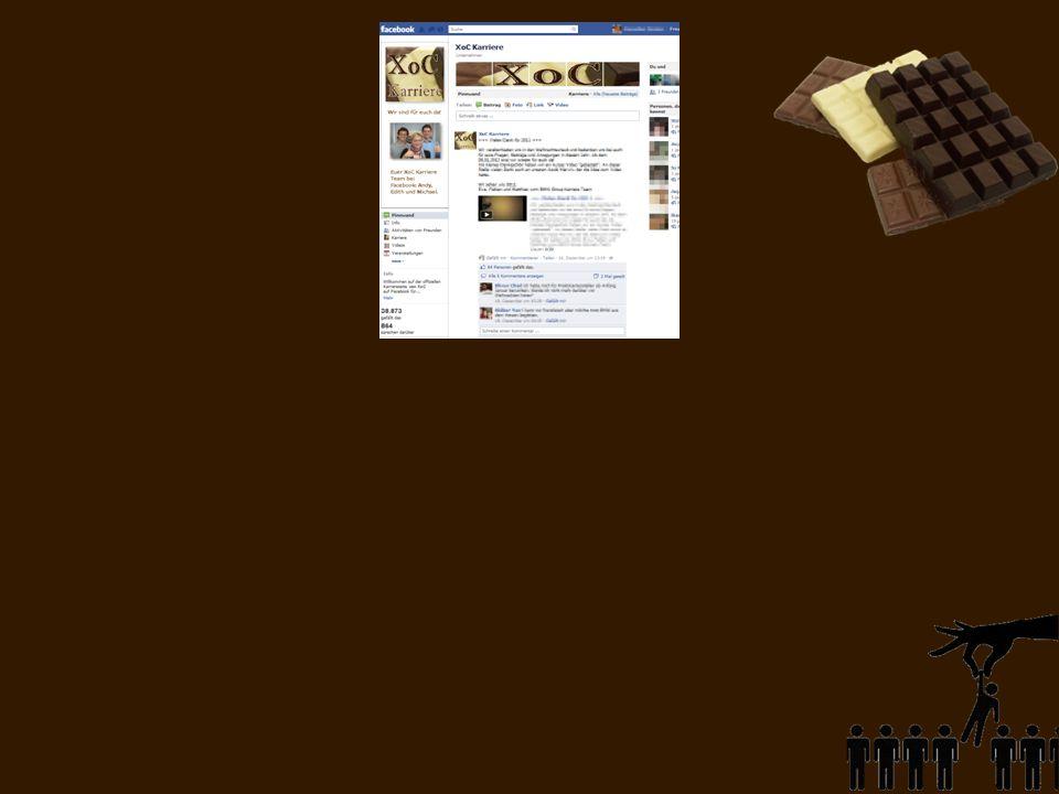 Unsere Facebook-Präsenz XoC Karriere
