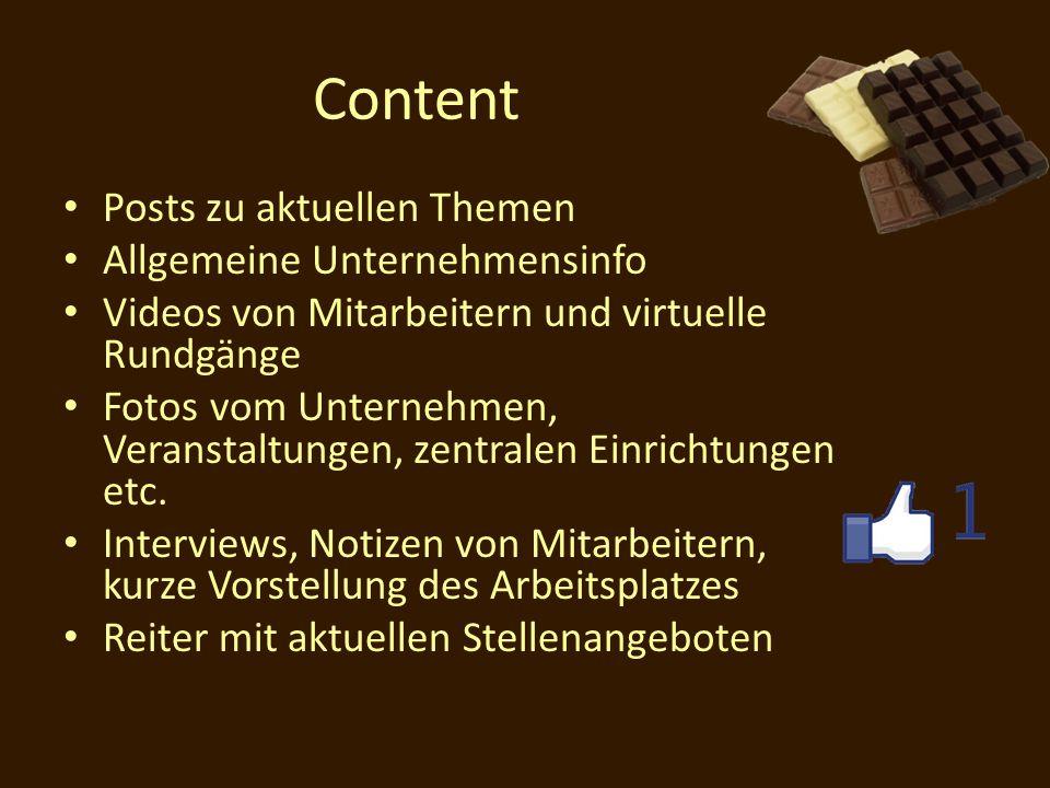 Content Posts zu aktuellen Themen Allgemeine Unternehmensinfo