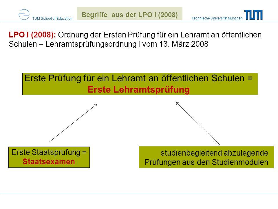 Begriffe aus der LPO I (2008)