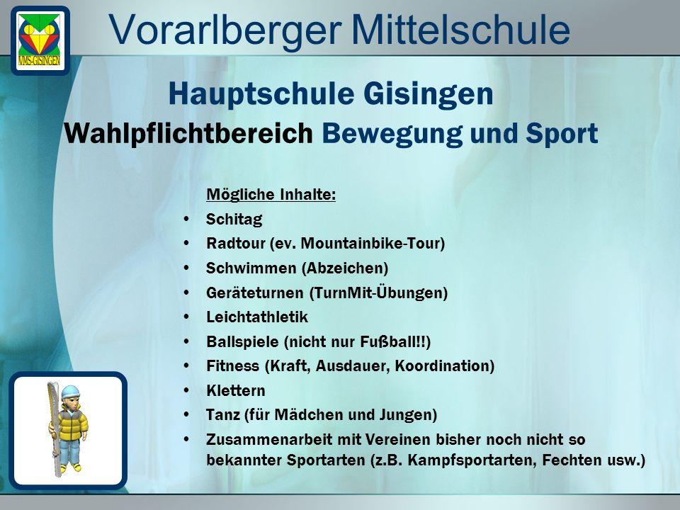 Vorarlberger Mittelschule