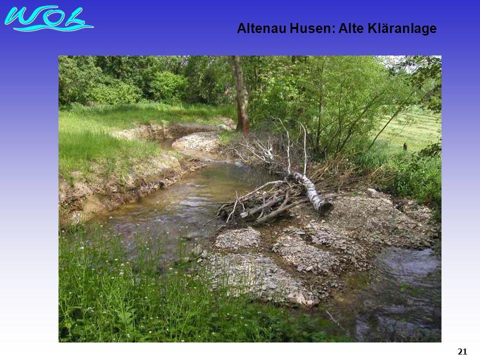 Altenau Husen: Alte Kläranlage