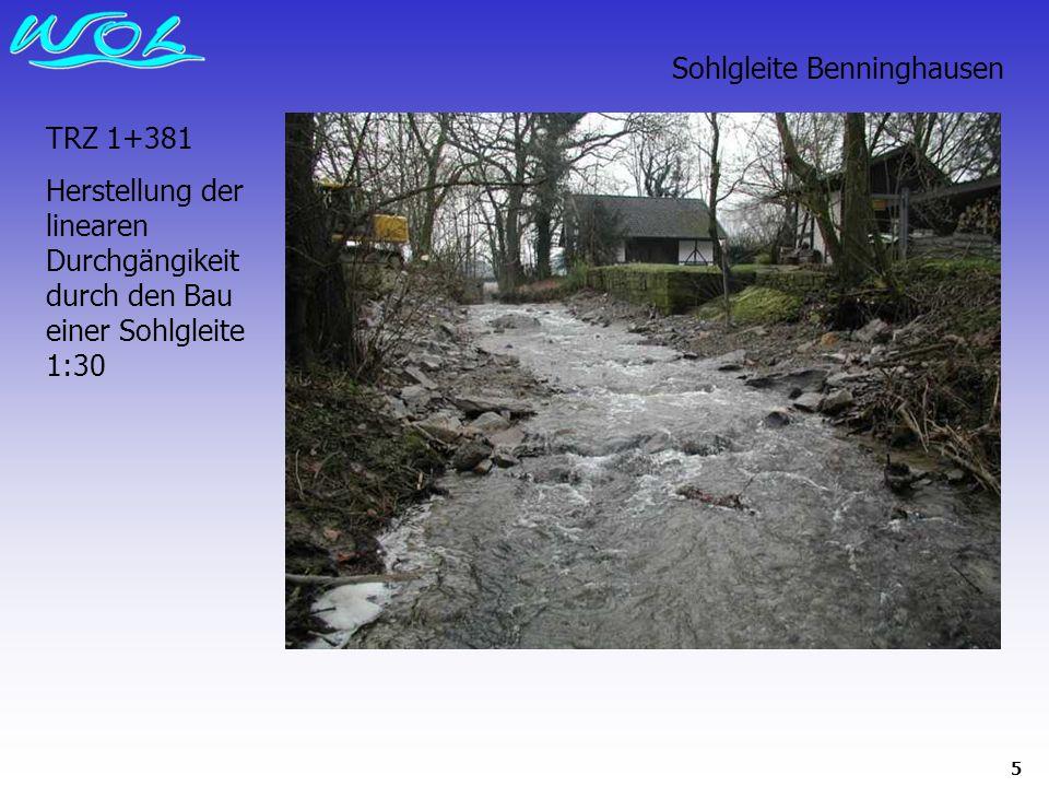 Sohlgleite Benninghausen