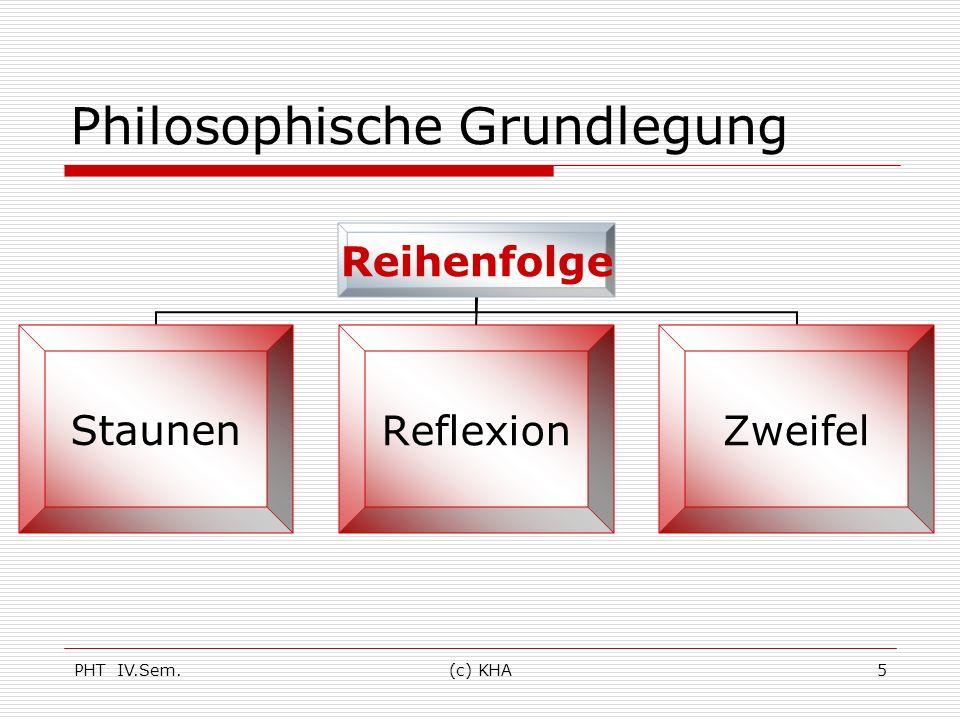 Philosophische Grundlegung