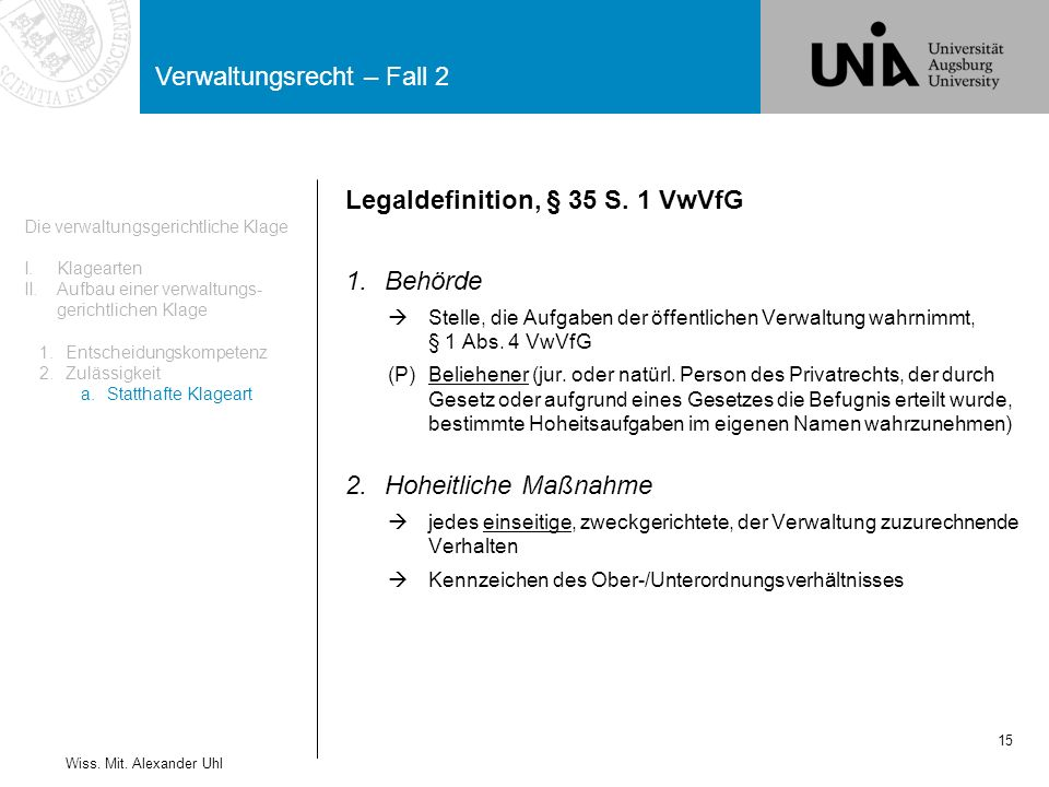 Legaldefinition, § 35 S. 1 VwVfG