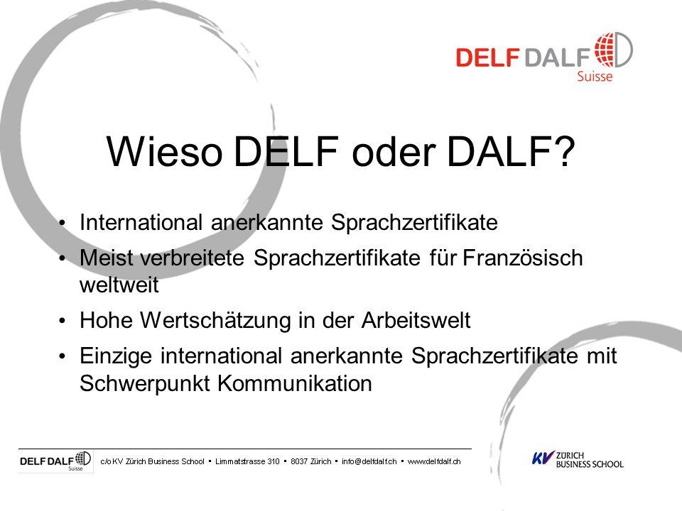 Wieso DELF oder DALF International anerkannte Sprachzertifikate