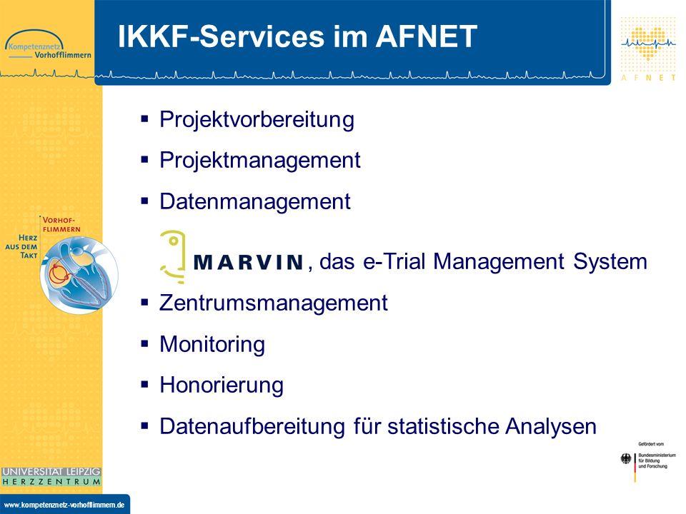 IKKF-Services im AFNET