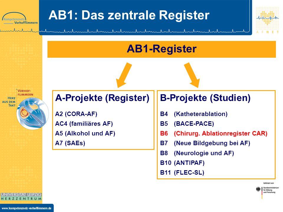 AB1: Das zentrale Register