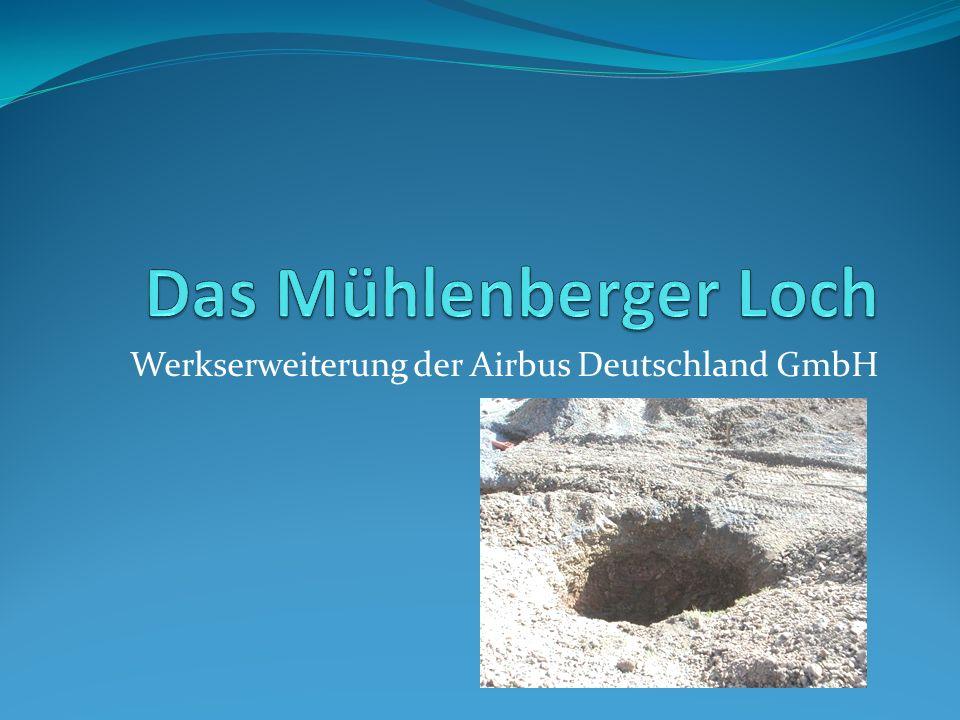 Werkserweiterung der Airbus Deutschland GmbH