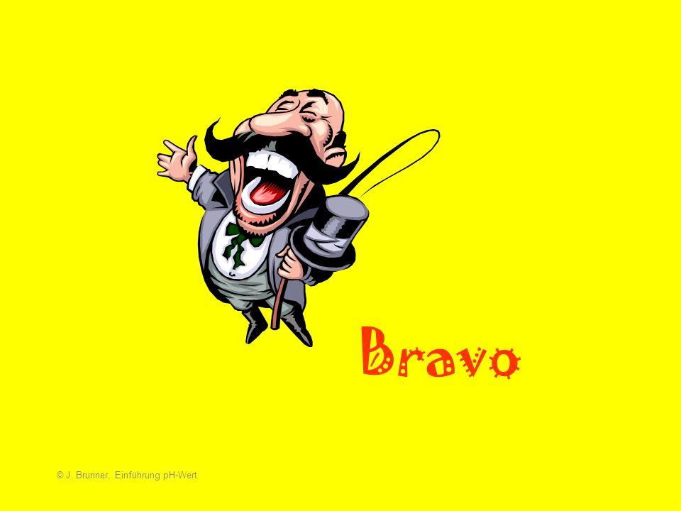 Bravo © J. Brunner, Einführung pH-Wert