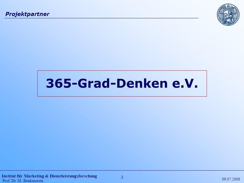 Projektpartner 365-Grad-Denken e.V. 09.07.2008
