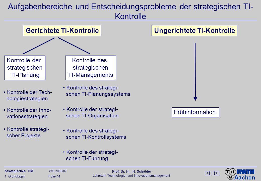 Aufgabenbereiche der strategischen (Personal-)Führung
