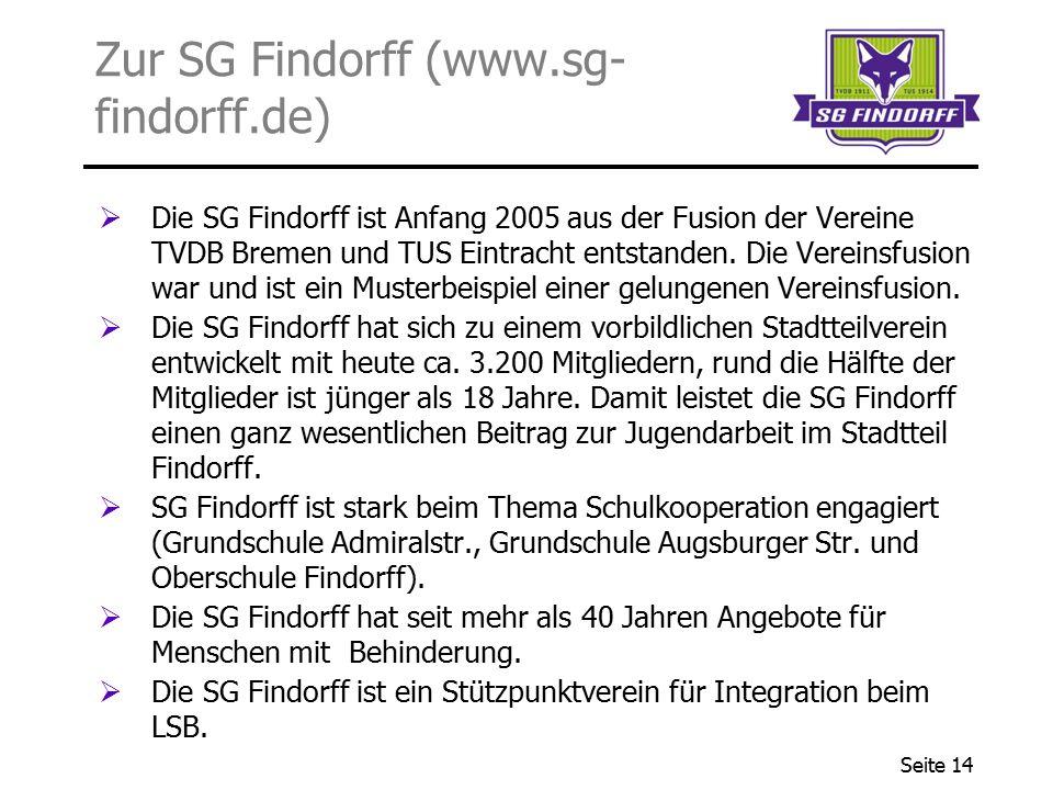 Zur SG Findorff (www.sg-findorff.de)