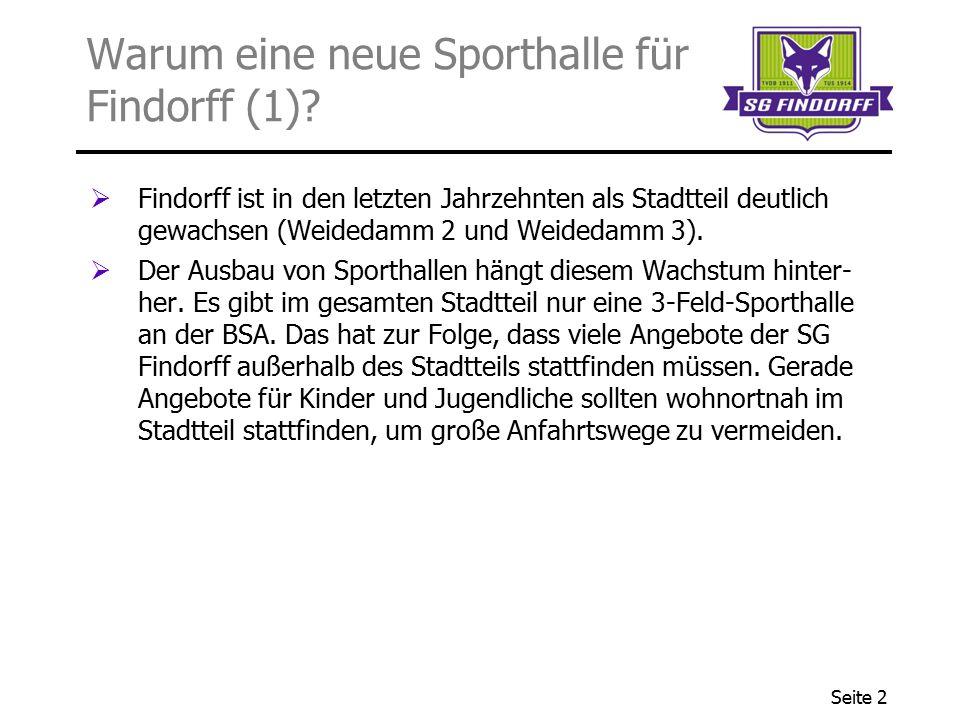 Warum eine neue Sporthalle für Findorff (1)