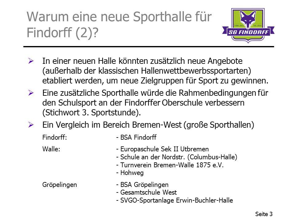 Warum eine neue Sporthalle für Findorff (2)