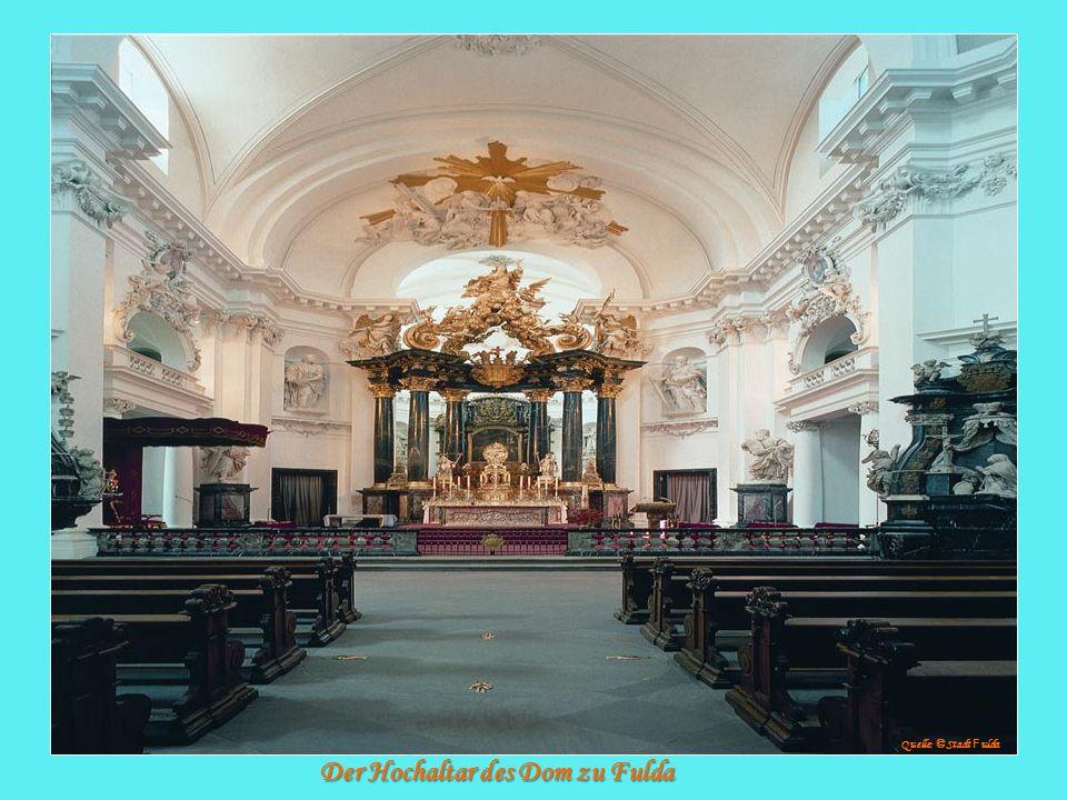 Der Hochaltar des Dom zu Fulda