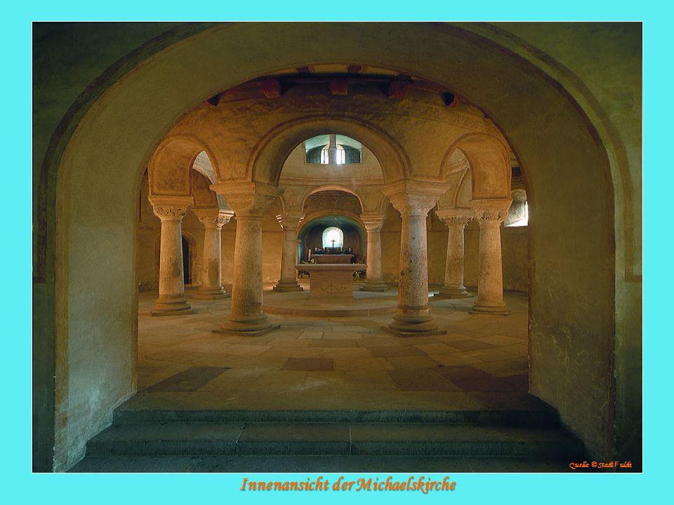 Innenansicht der Michaelskirche