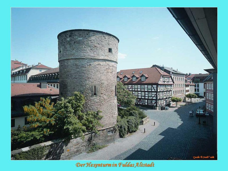 Der Hexenturm in Fuldas Altstadt