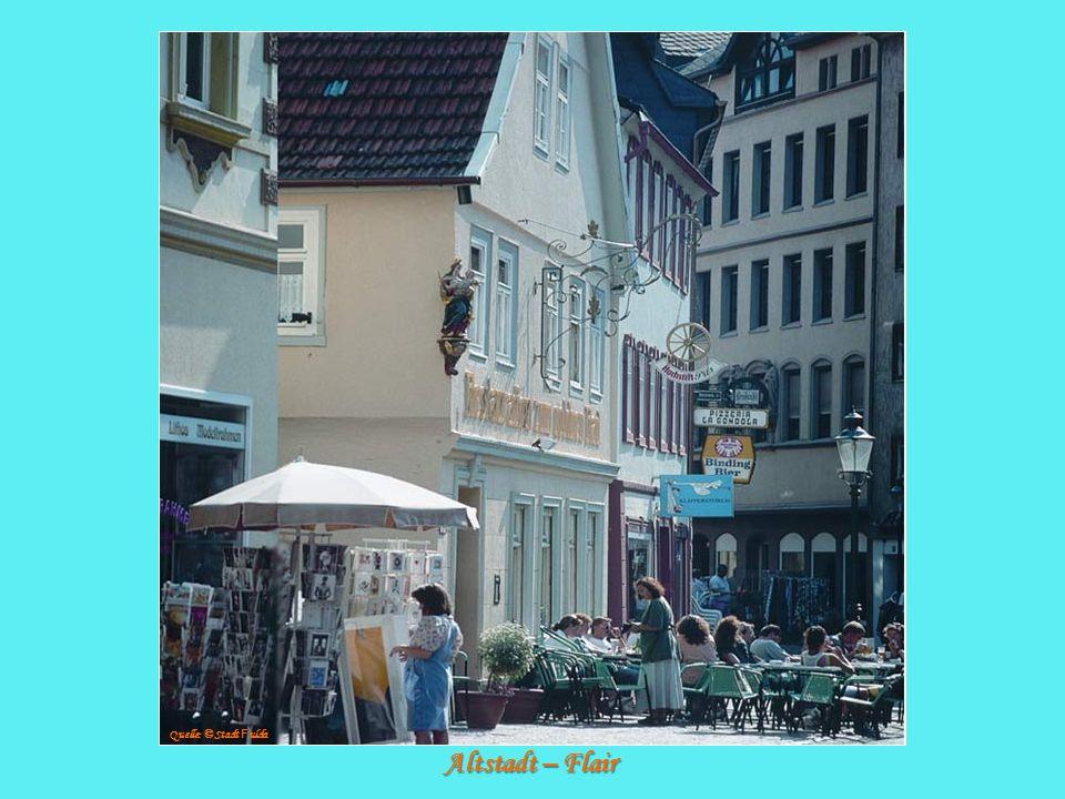 Quelle: © Stadt Fulda Altstadt – Flair