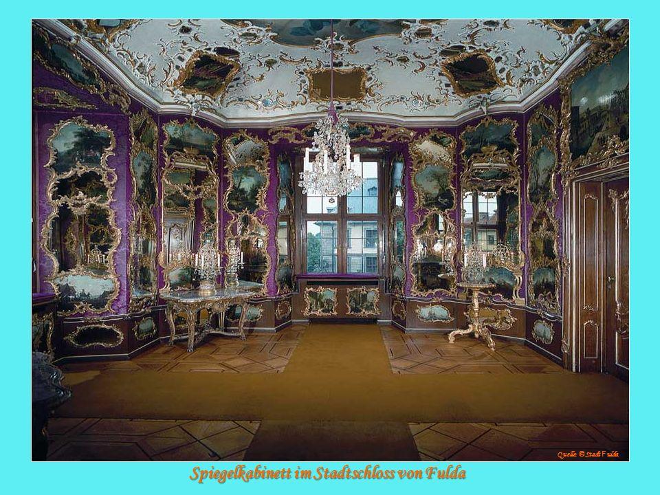 Spiegelkabinett im Stadtschloss von Fulda