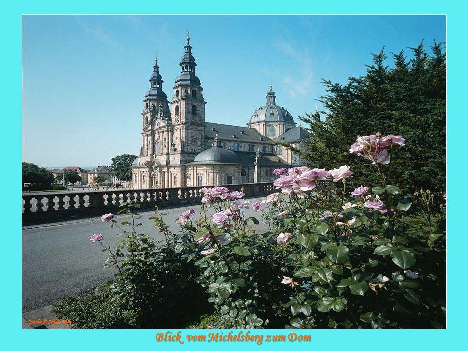 Blick vom Michelsberg zum Dom