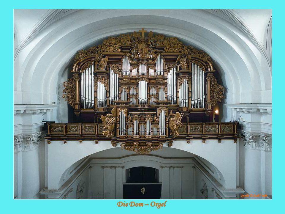 Quelle: © Stadt Fulda Die Dom – Orgel