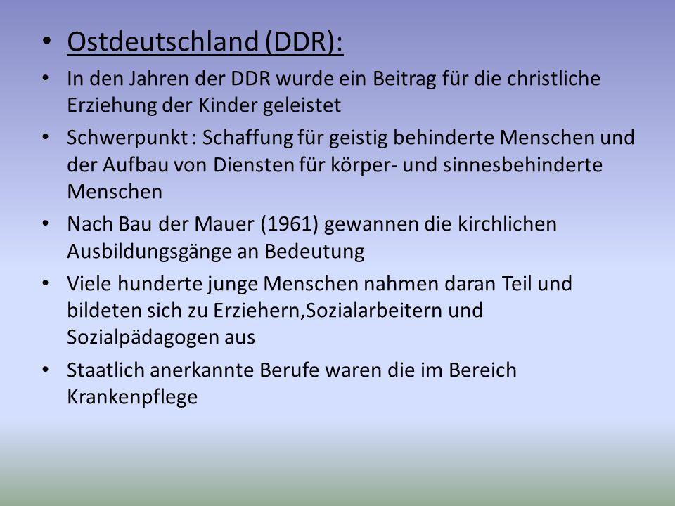 Ostdeutschland (DDR):