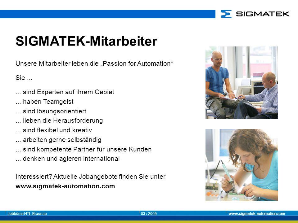 SIGMATEK-Mitarbeiter