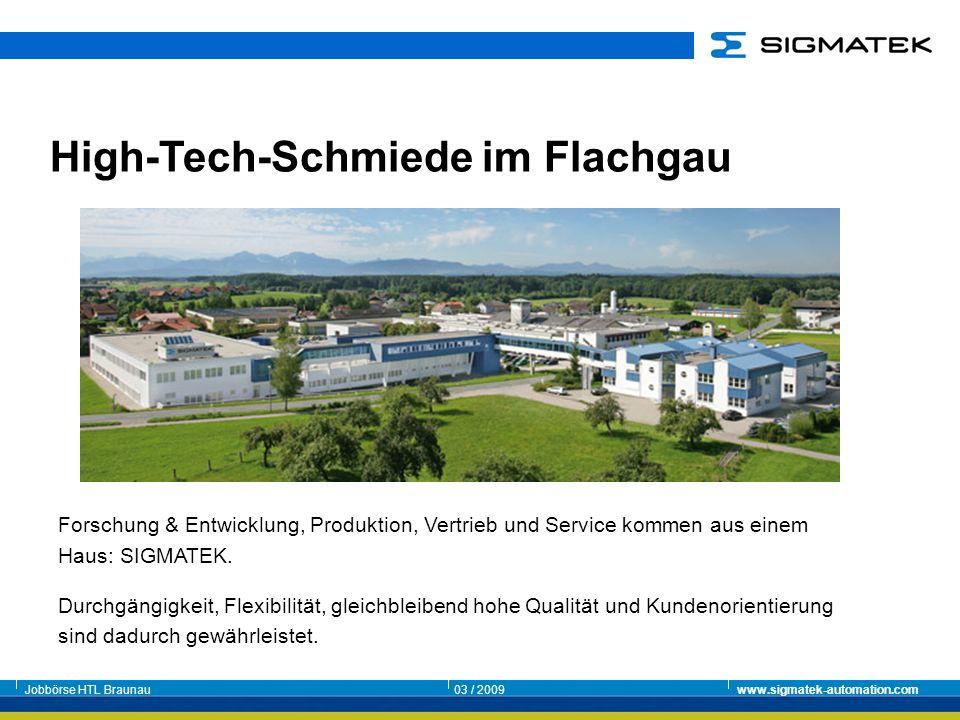 High-Tech-Schmiede im Flachgau