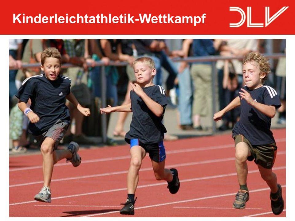 Kinderleichtathletik-Wettkampf