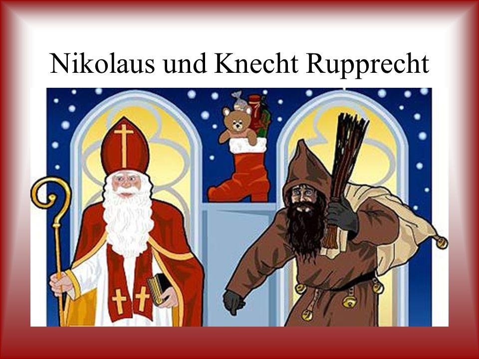 Nikolaus und Knecht Rupprecht