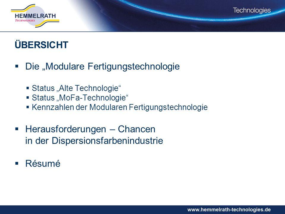 """Die """"Modulare Fertigungstechnologie"""