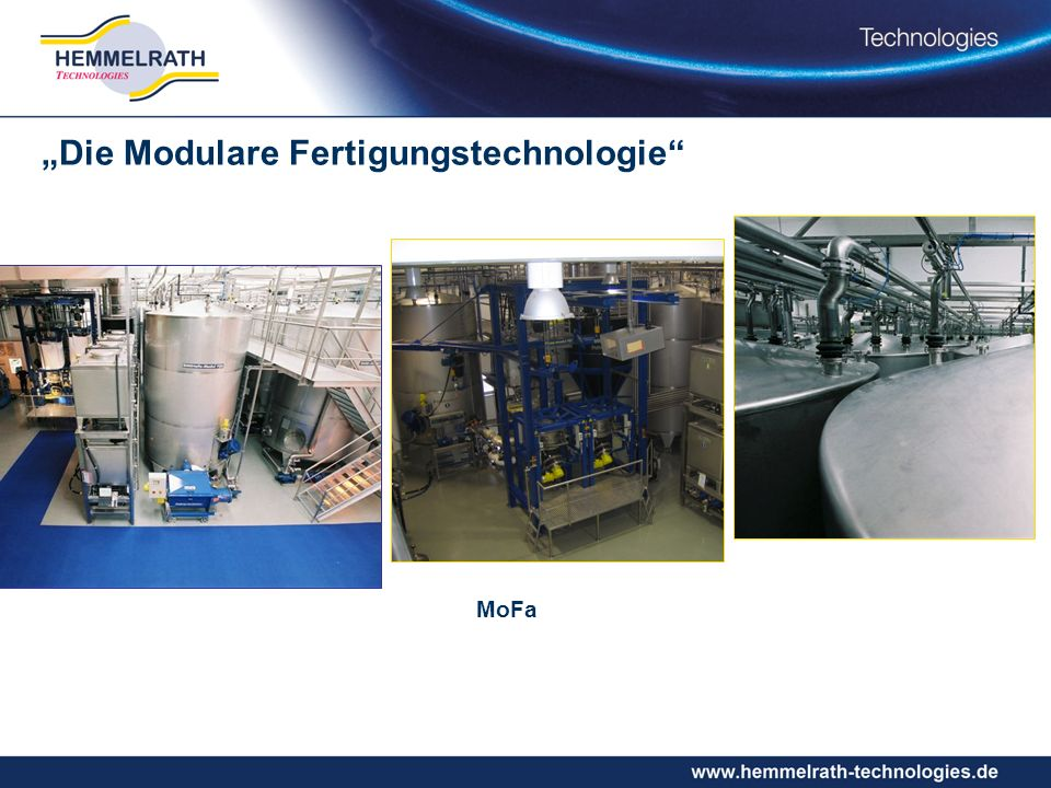 """""""Die Modulare Fertigungstechnologie"""