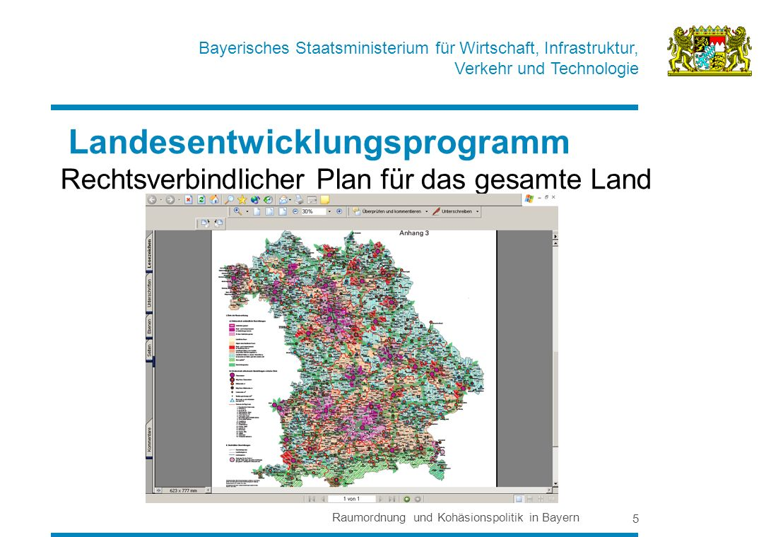 Landesentwicklungsprogramm Rechtsverbindlicher Plan für das gesamte Land