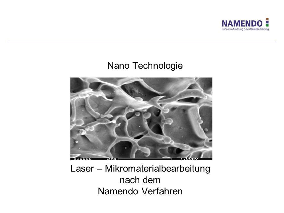 Laser – Mikromaterialbearbeitung