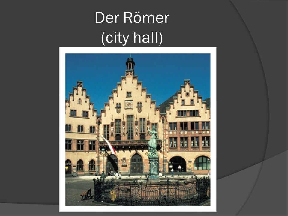 Der Römer (city hall)