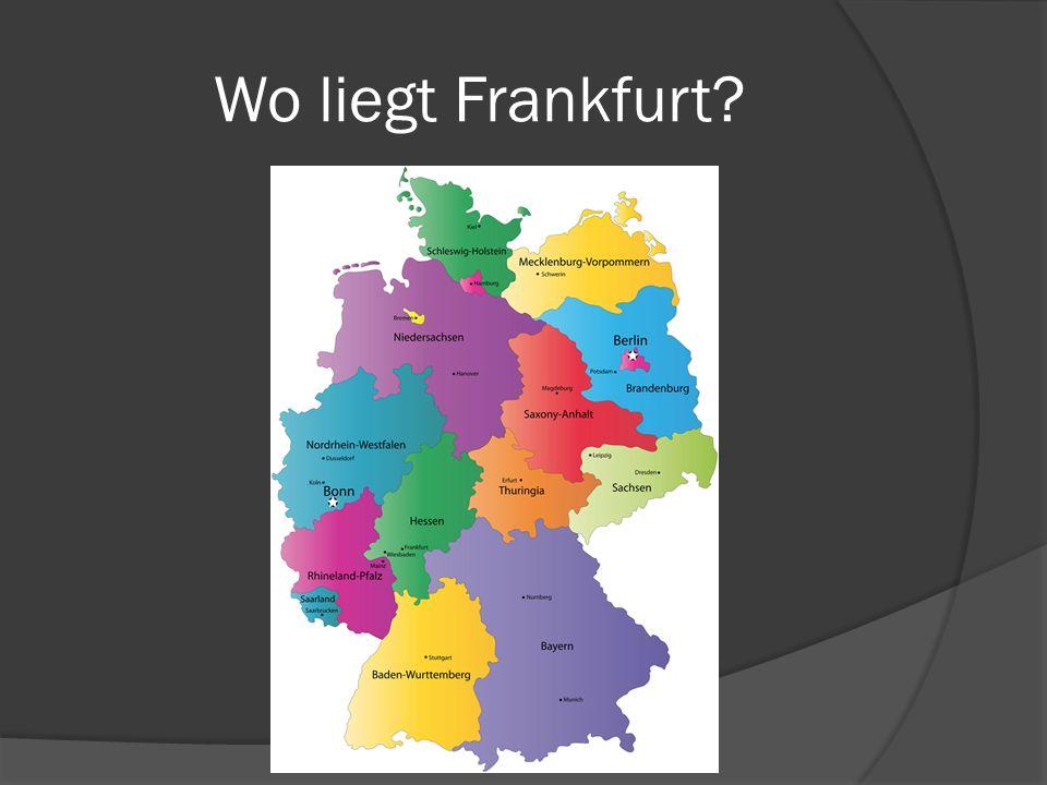 Wo liegt Frankfurt