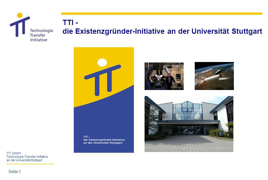 die Existenzgründer-Initiative an der Universität Stuttgart