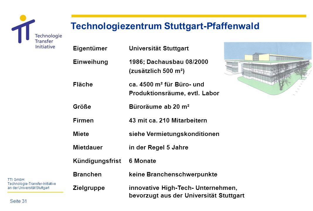 Technologiezentrum Stuttgart-Pfaffenwald
