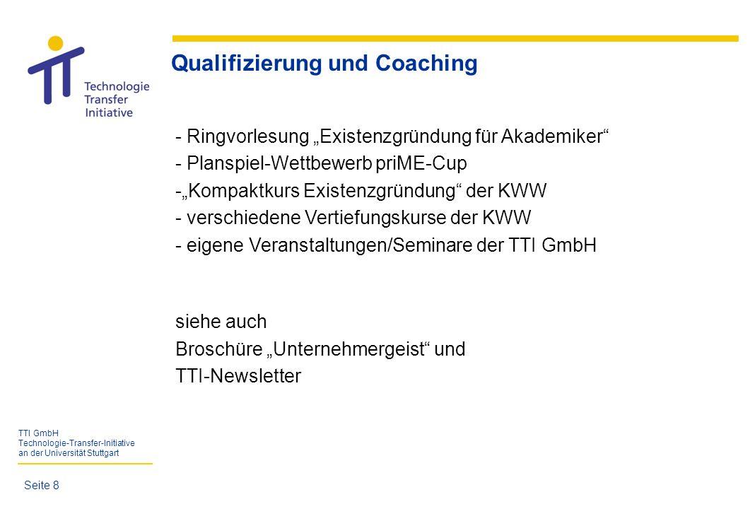 Qualifizierung und Coaching