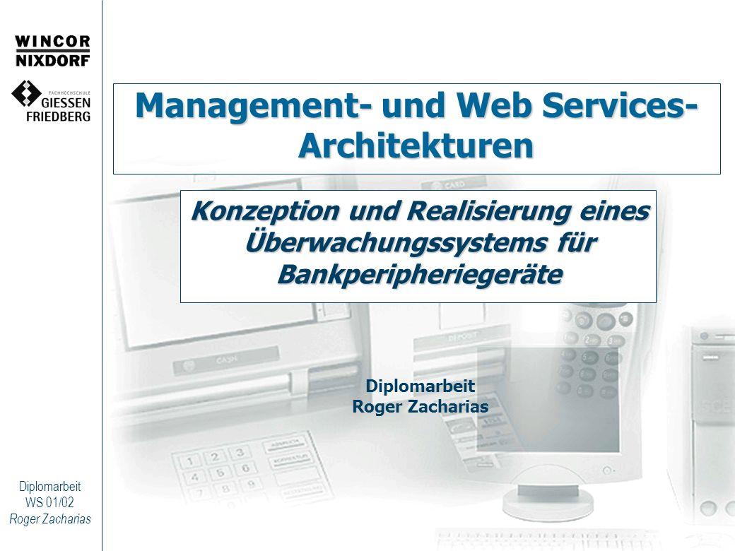 Management- und Web Services- Architekturen