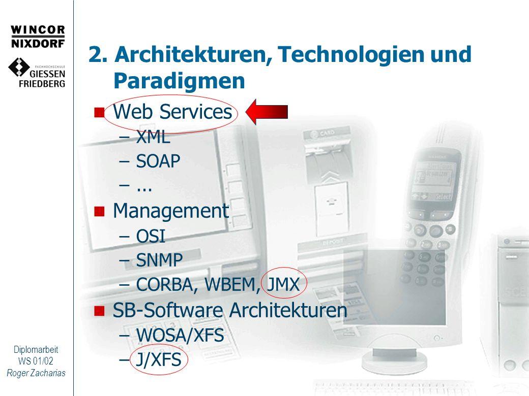 2. Architekturen, Technologien und Paradigmen