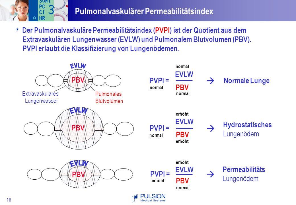 Pulmonalvaskulärer Permeabilitätsindex