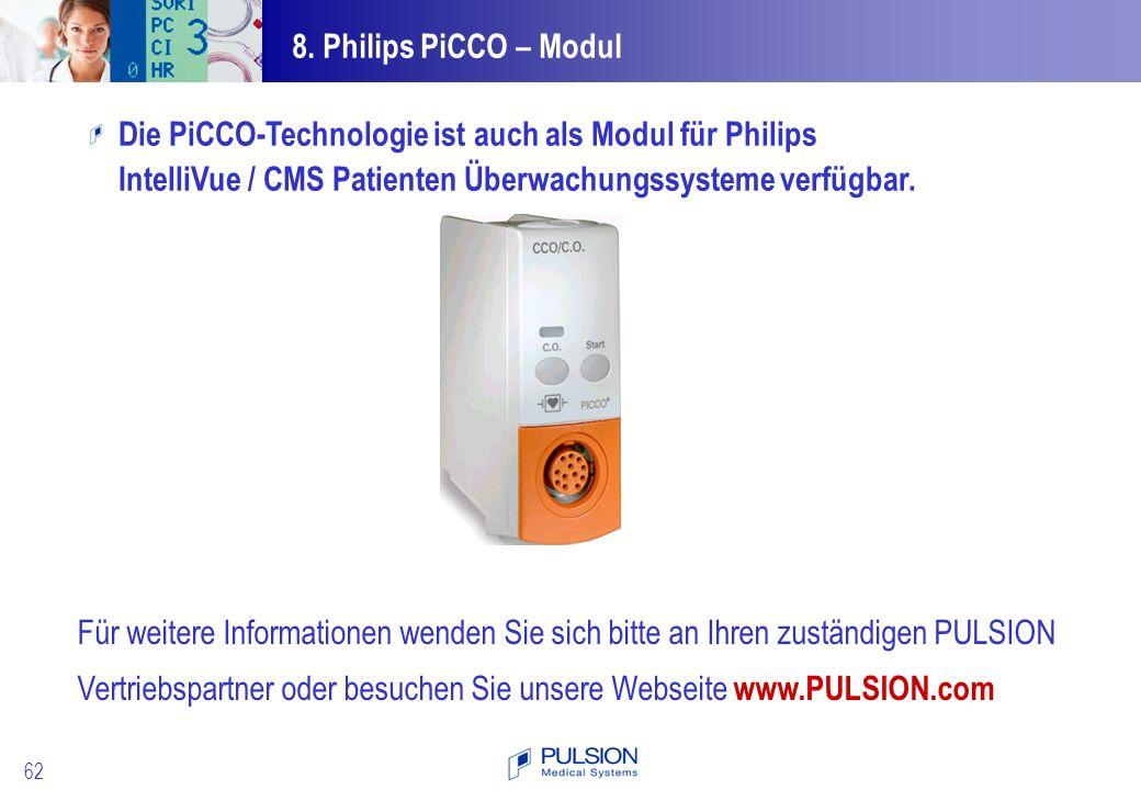 Die PiCCO-Technologie ist auch als Modul für Philips