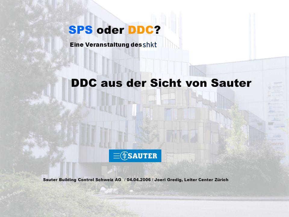 DDC aus der Sicht von Sauter