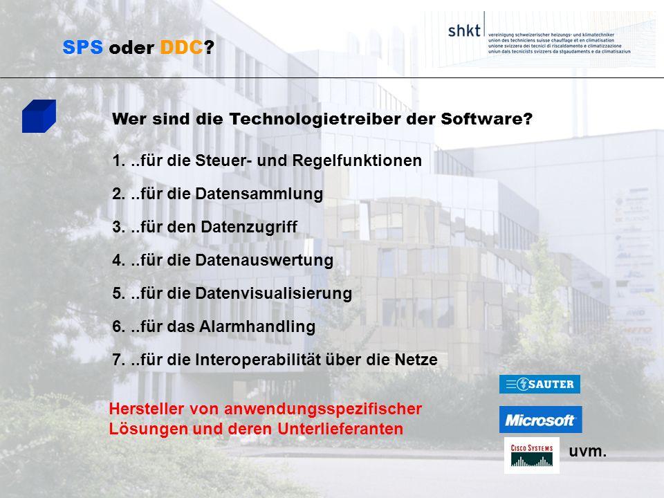 SPS oder DDC Wer sind die Technologietreiber der Software