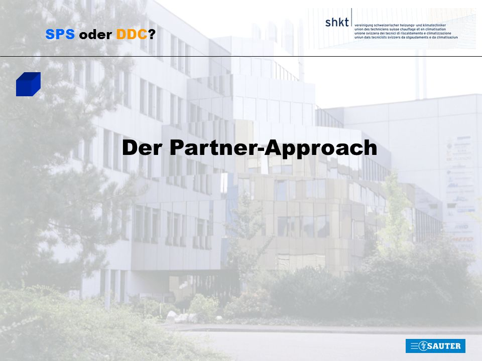 SPS oder DDC Der Partner-Approach