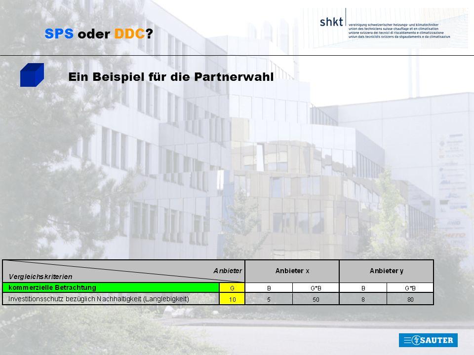 SPS oder DDC Ein Beispiel für die Partnerwahl