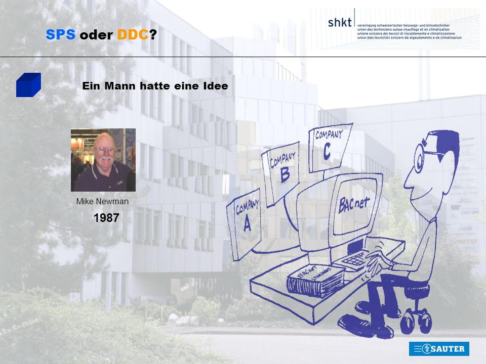 SPS oder DDC Ein Mann hatte eine Idee Mike Newman 1987